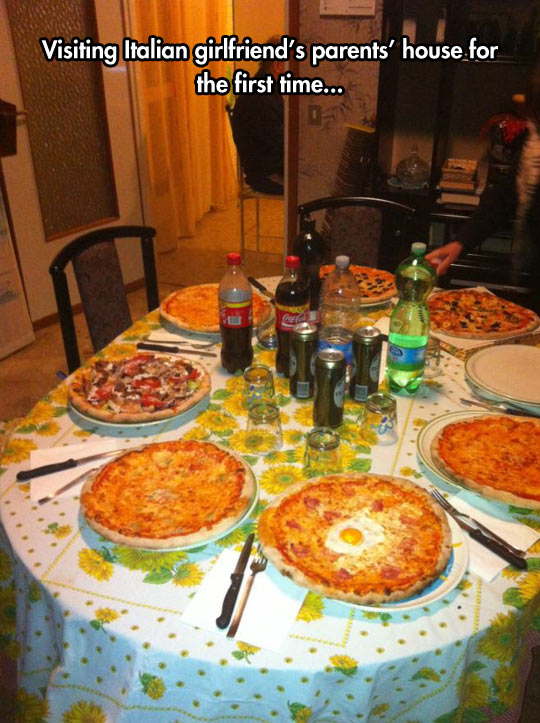 A Real Pizza Party