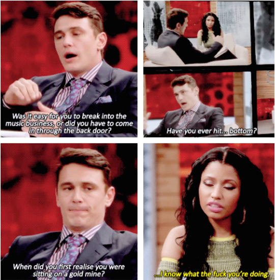 James Franco Interviews Nicki Minaj