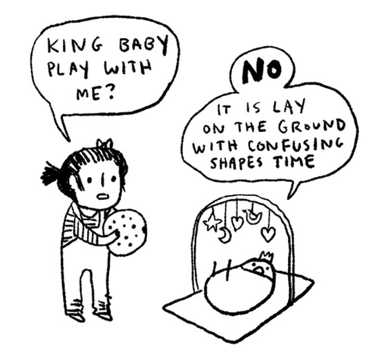 funny-King-baby-playing-ball