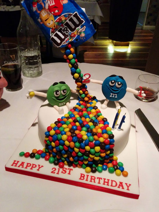 Mom Gets Creative With Her Sons Birthday Cake