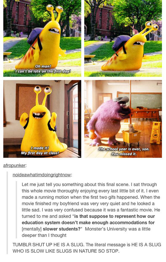 Sometimes A Slug Is Just Slug