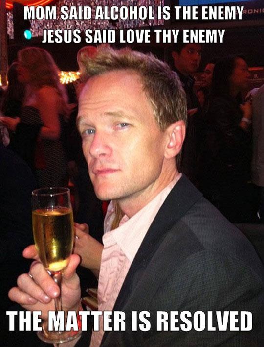 funny-Neil-Patrick-Harris-glass-champagne