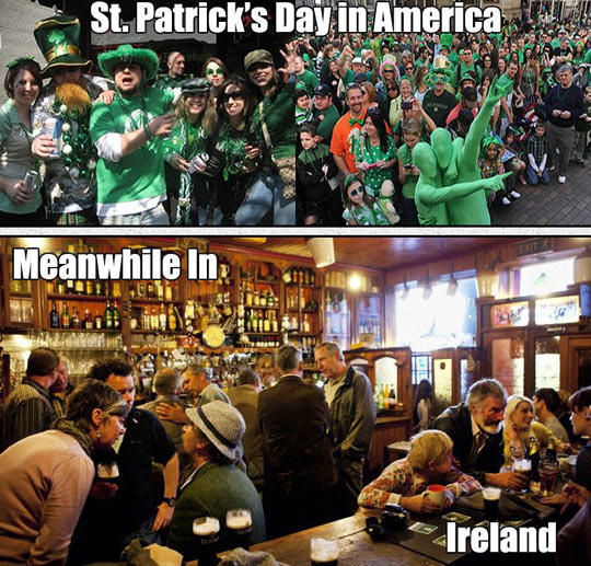 Being Irish In America Vs. Being Irish