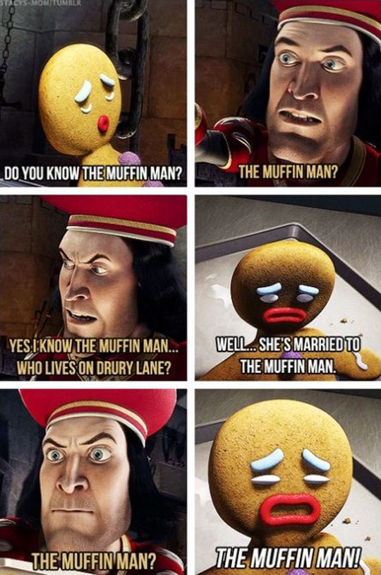 funny-Shrek-ginger-man-muffin
