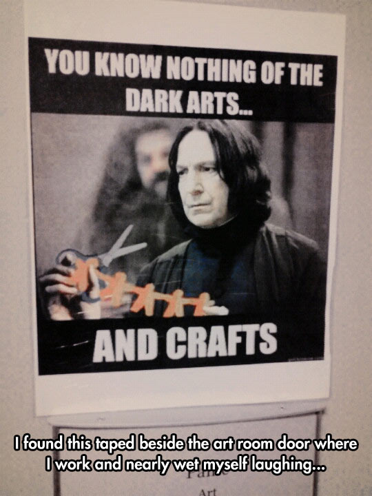 You Know Nothing Of The Dark Arts