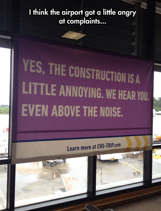 This Airport Has Had Enough