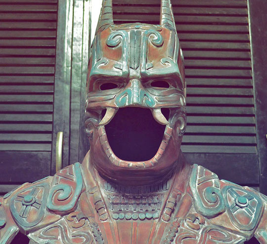 Ancient Mexican Batman