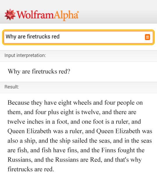 Thank You, Wolfram Alpha