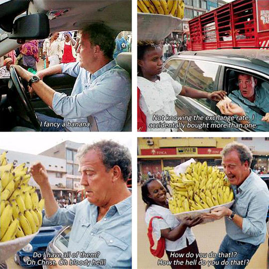 Banana Sellers Have It Rough
