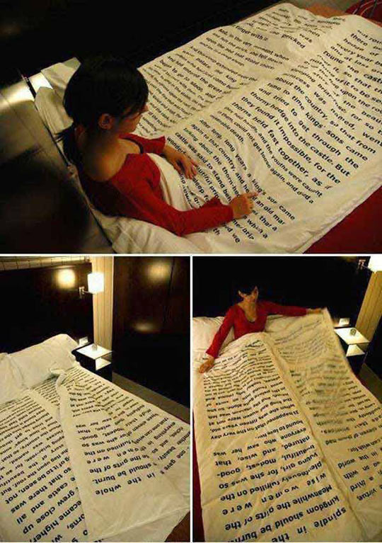 funny-bed-book-sheets-pages
