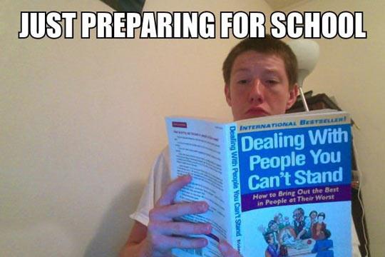 Before School Starts