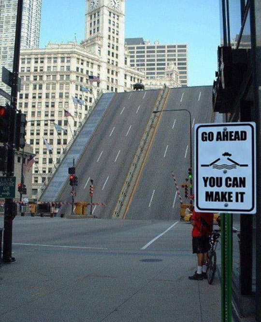 Go Ahead, You Can Make It