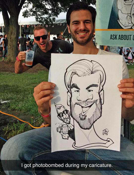 funny-caricature-photobomb-cartoon