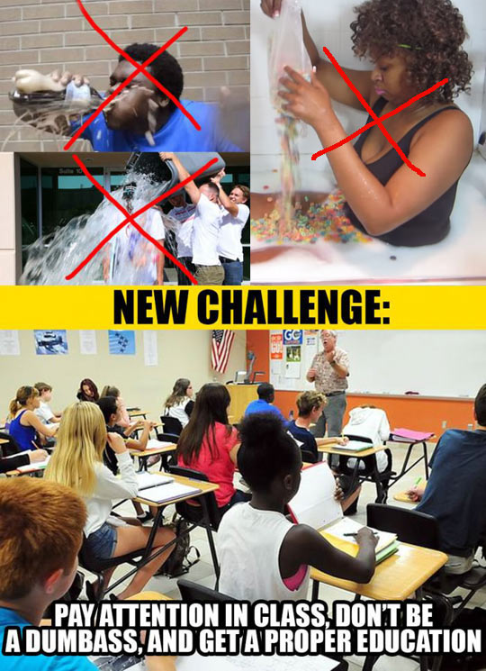 What About This New Challenge?