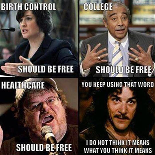 Are You Sure Everything Should Be Free?