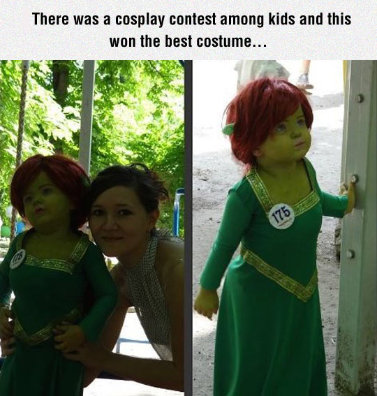 Princess Fiona Cosplay