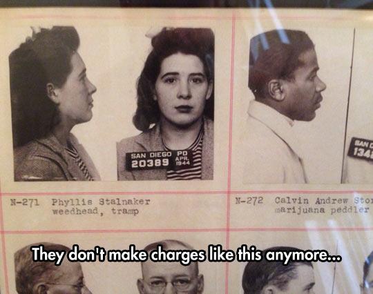 Old Criminal Descriptions
