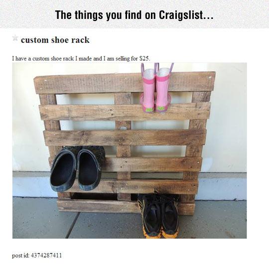 Custom Shoe Rack