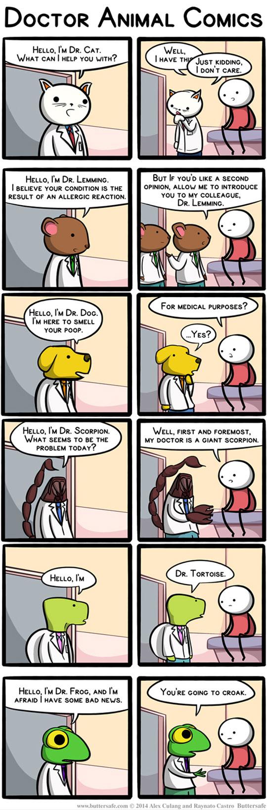 Doctor Animal Comics