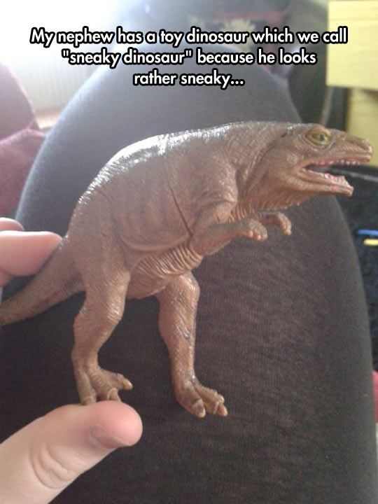 Sneaky Dinosaur Toy