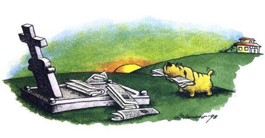funny-dog-story-owner-grave-paper