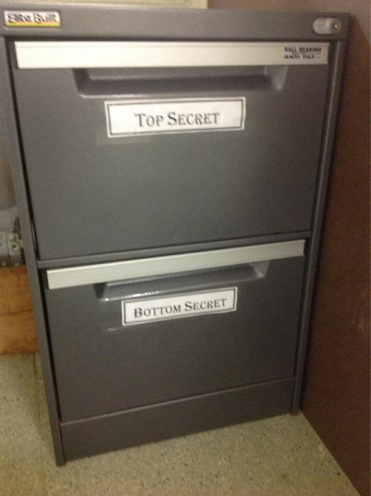 There Are Two Types Of Secrets