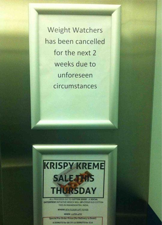 funny-elevator-weight-watcher-krispy-kreme