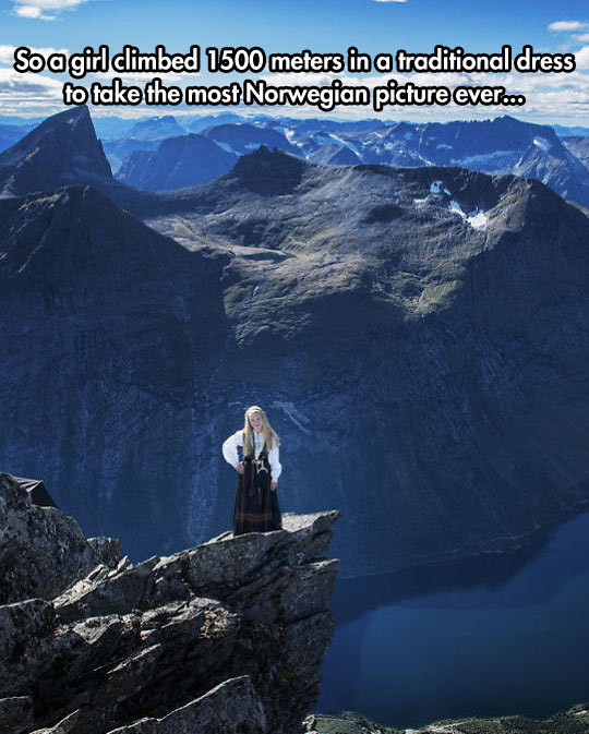 The Most Norwegian Picture Ever