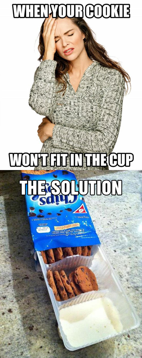 Perfect Solution For A First World Problem