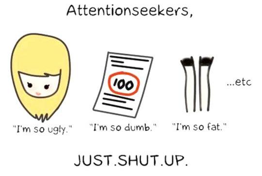 Please, Shut Up