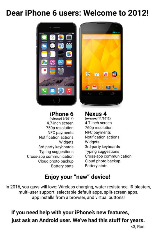 Android People Vs. iOS People