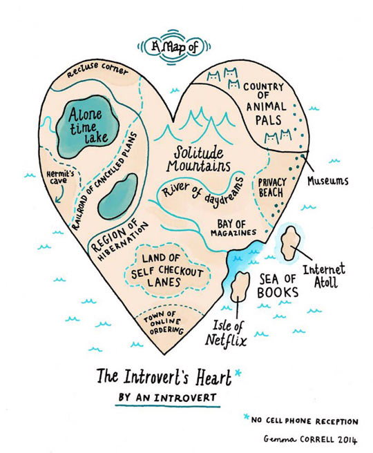 Map Of An Introvert
