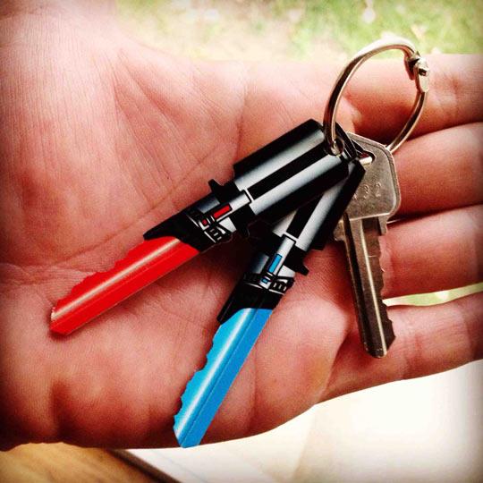 Light Saber Keys For Star Wars Fans