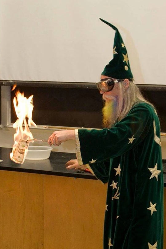 funny-magician-money-fire-science-class