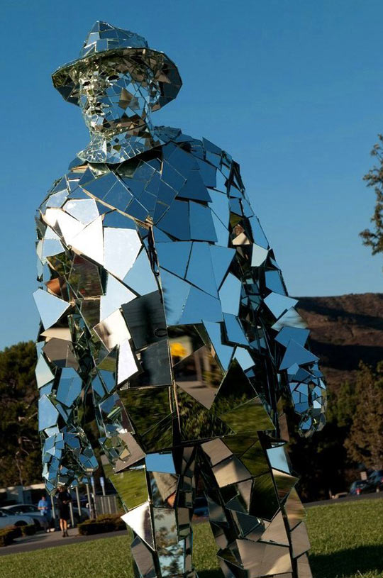 Mirrored Man Costume