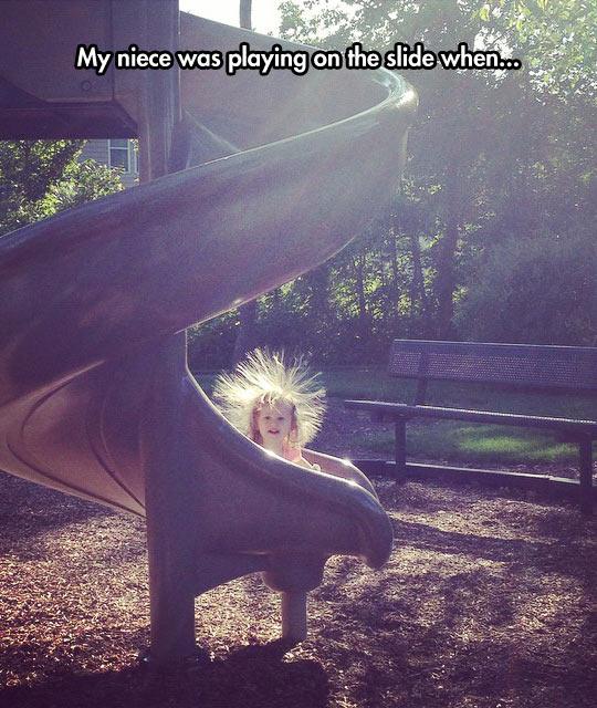 funny-niece-slide-hair-park