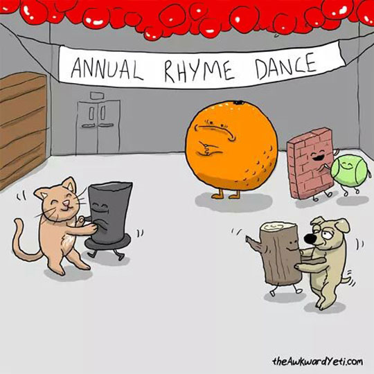 Meanwhile, At The Annual Rhyme Dance