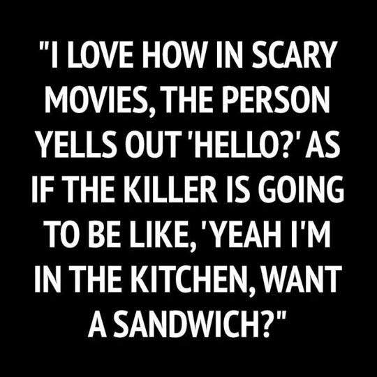 Scary Movie Cliche