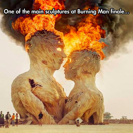 funny-sculpture-Burning-Man-fire