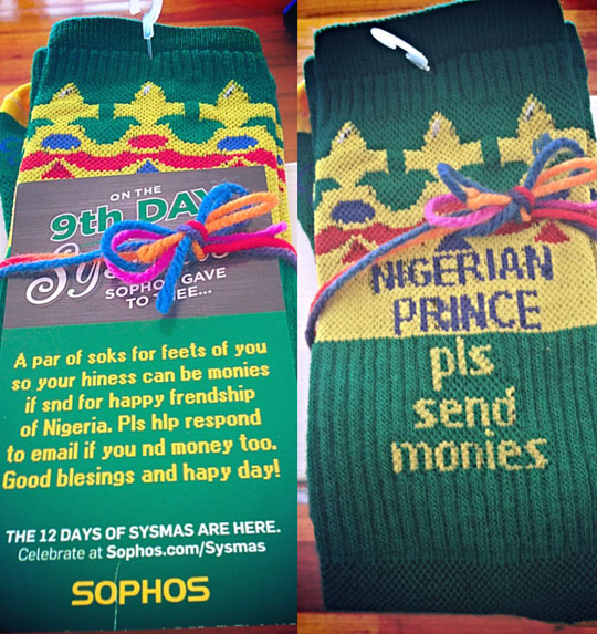 funny-socks-hoax-Nigerian-Prince