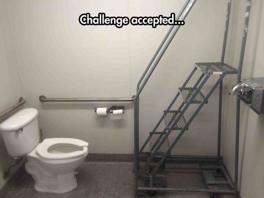 I Never Refuse A Challenge
