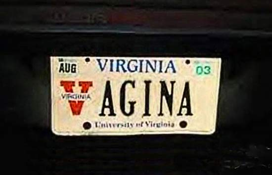 vagina-funny-license-plates