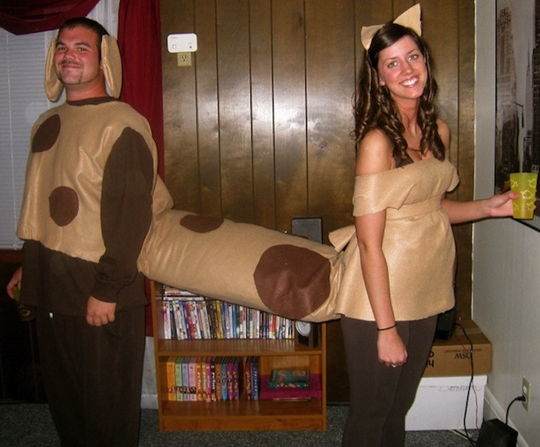 25 cheesy couples halloween costumes