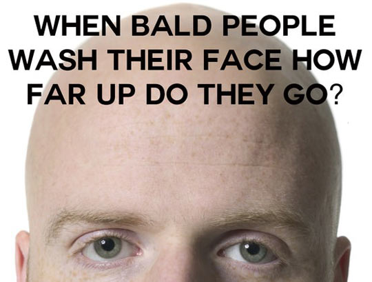 Bald People Problems