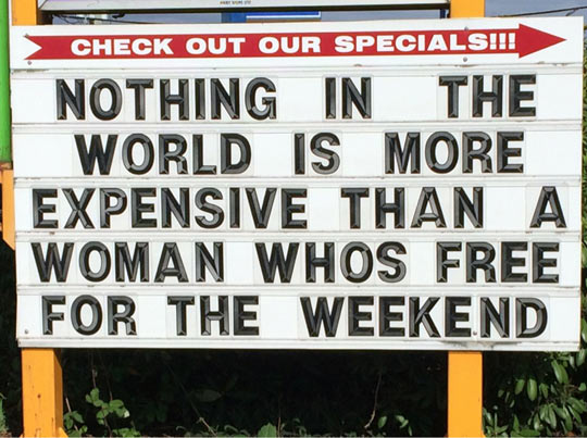 The Most Expensive Thing In The World