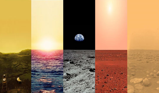cool-Earth-Moon-Venus-Titan-Mars-surface