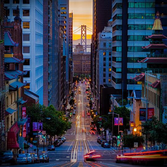 cool-San-Francisco-street-colors-sunset