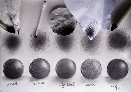 cool-artist-pencil-technique-sphere