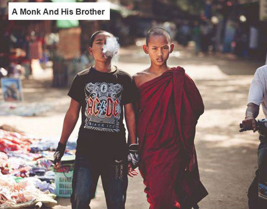 Two Brothers, Two Different Faiths