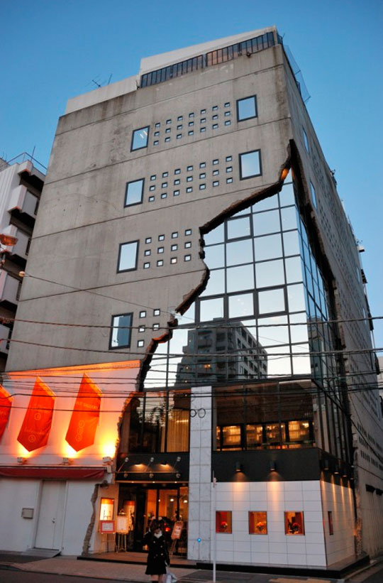 The \'Ebisu East Art Gallery\' Building In Tokyo Looks Absolutely Crazy